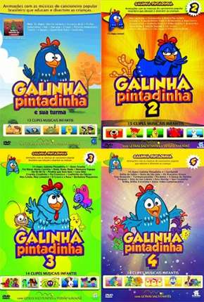 Galinha Pintadinha 1, 2, 3 e 4 - Todos os Filmes Filmes Torrent Download capa