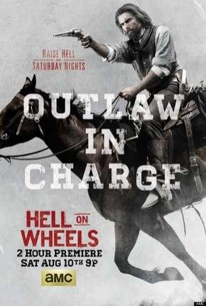 Hell on Wheels - 3ª Temporada Séries Torrent Download capa