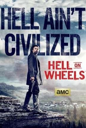 Hell on Wheels - 4ª Temporada Séries Torrent Download capa