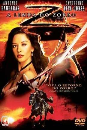 A Lenda do Zorro BluRay Filmes Torrent Download capa