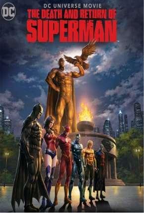 A Morte e o Retorno do Superman BluRay Filmes Torrent Download capa