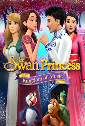 A Princesa Encantada - O Reino da Música Filmes Torrent Download capa