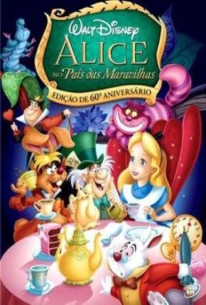 Alice no País das Maravilhas - BluRay Animação Filmes Torrent Download capa