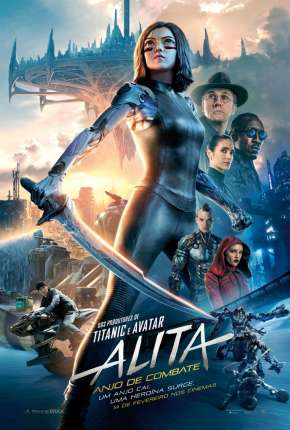 Alita - Anjo de Combate Filmes Torrent Download capa