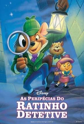 As Peripécias de um Ratinho Detetive - Animação Filmes Torrent Download capa