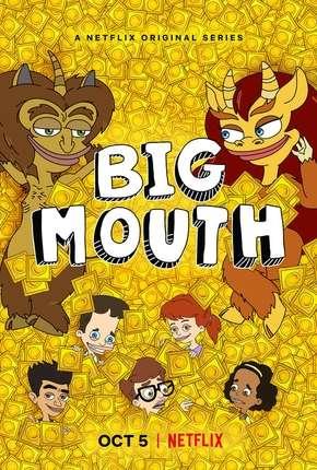 Big Mouth - 2ª Temporada Completa Desenhos Torrent Download capa