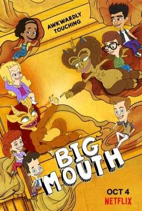 Big Mouth - 3ª Temporada Completa Desenhos Torrent Download capa