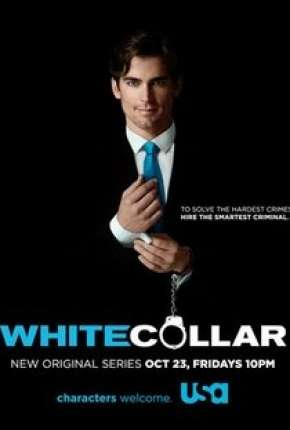 Crimes do Colarinho Branco  - White Collar - 1ª Temporada Séries Torrent Download capa