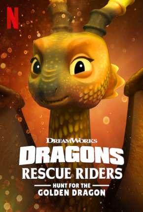 Dragões - Equipe de Resgate - Em Busca do Dragão Dourado Desenhos Torrent Download capa