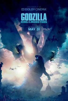 Godzilla 2 - Rei dos Monstros Legendado Filmes Torrent Download capa
