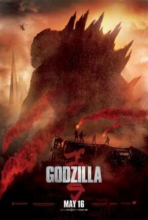 Godzilla BluRay Filmes Torrent Download capa