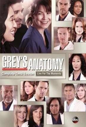 Greys Anatomy - 10ª Temporada - Completa Séries Torrent Download capa
