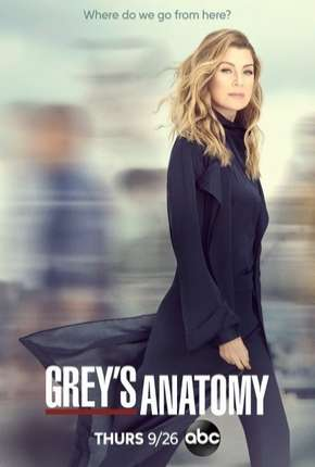 A Anatomia de Grey - Greys Anatomy - 16ª Temporada Legendada Séries Torrent Download capa