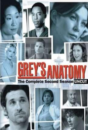 Greys Anatomy - 2ª Temporada Completa Séries Torrent Download capa