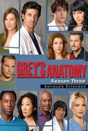 Greys Anatomy - 3ª Temporada - Completa Séries Torrent Download capa