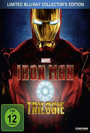 Homem de Ferro - Trilogia Filmes Torrent Download capa