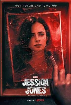 Jessica Jones - 3ª Temporada Completa Netflix Séries Torrent Download capa