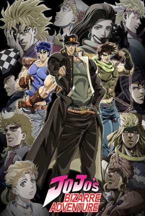 JoJo no kimyô-na bôken - Legendado Desenhos Torrent Download capa