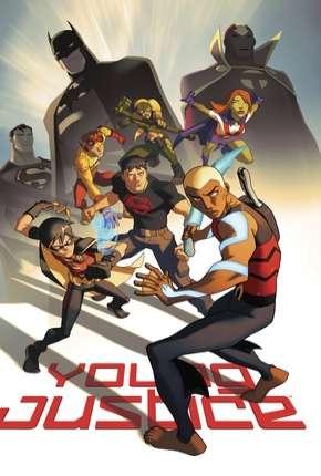 Justiça Jovem - 1ª Temporada Completa Desenhos Torrent Download capa