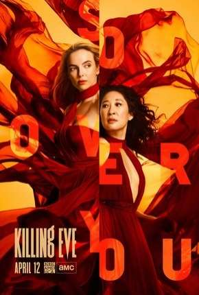 Killing Eve - Dupla Obsessão - 3ª Temporada Legendada Séries Torrent Download capa