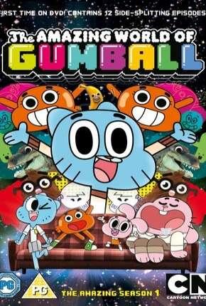 O IncrÍvel Mundo de Gumball - 1ª e 2ª Temporada Desenhos Torrent Download capa
