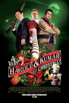 O Natal Maluco de Harold e Kumar Filmes Torrent Download capa