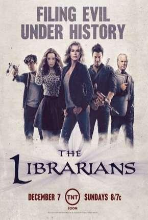 Os Bibliotecários - 1ª Temporada Séries Torrent Download capa
