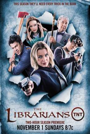 Os Bibliotecários - 2ª Temporada Séries Torrent Download capa