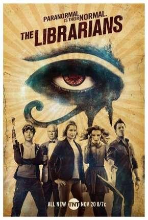 Os Bibliotecários - 3ª Temporada Séries Torrent Download capa