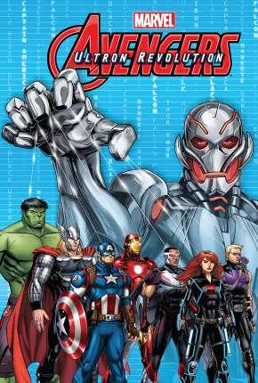 Os Vingadores da Marvel - A Revolução de Ultron Filmes Torrent Download capa