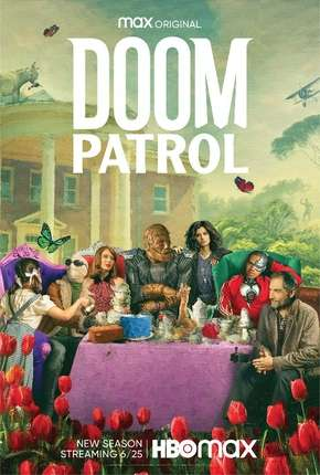 Patrulha do Destino - Doom Patrol 2ª Temporada Legendada Séries Torrent Download capa