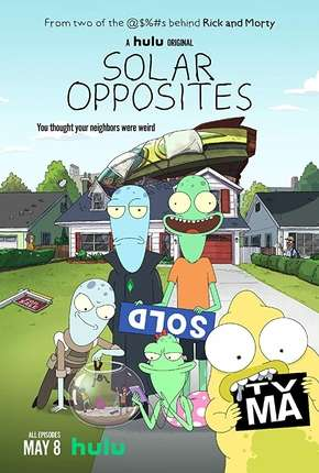 Solar Opposites - 1ª Temporada Completa - Legendado Desenhos Torrent Download capa