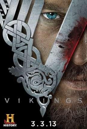 Vikings - 1ª Temporada - Versão Estendida Completa Séries Torrent Download capa