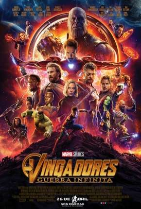 Vingadores - Guerra Infinita - 60 FPS Filmes Torrent Download capa