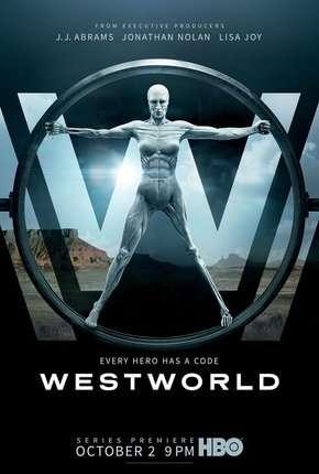 Westworld - 1ª Temporada Completa HD Séries Torrent Download capa