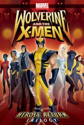 Wolverine e os X-Men - 1ª Temporada Desenhos Torrent Download capa