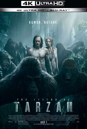 A Lenda de Tarzan - 4K Filmes Torrent Download capa