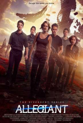 A Série Divergente - Convergente Filmes Torrent Download capa