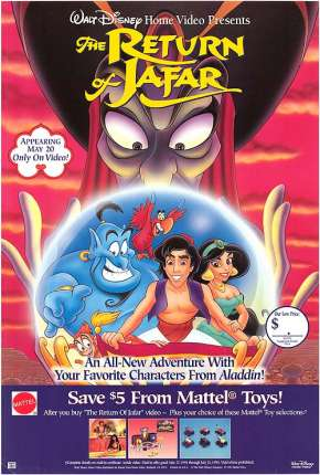 Aladdin - O Retorno de Jafar Filmes Torrent Download capa
