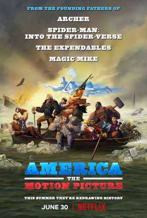 America - The Motion Picture Filmes Torrent Download capa