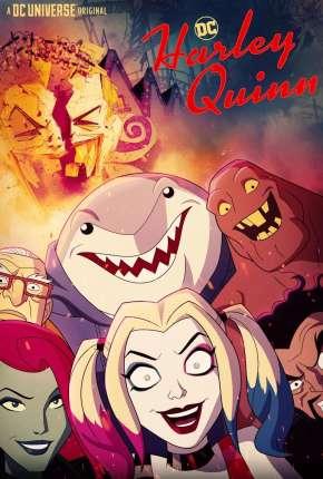 Arlequina - Harley Quinn 1ª Temporada Completa Desenhos Torrent Download capa
