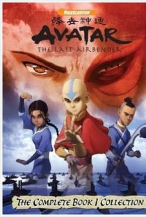Avatar - A Lenda de Aang - 1ª Temporada Desenhos Torrent Download capa