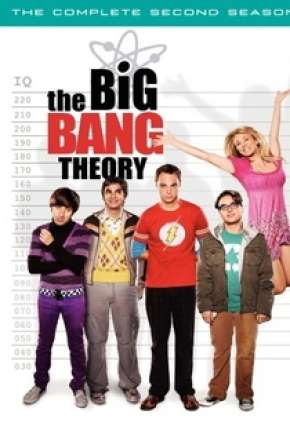 Big Bang - A Teoria - 3ª Temporada Completa Séries Torrent Download capa