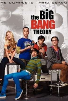 Big Bang - A Teoria - 3ª Temporada Séries Torrent Download capa
