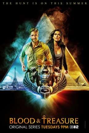 Blood e Treasure - 1ª Temporada Séries Torrent Download capa