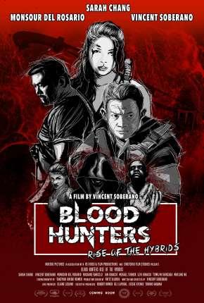 Blood Hunters - Rise of the Hybrids - Legendado Filmes Torrent Download capa