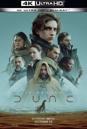 Duna - 4K Filmes Torrent Download capa