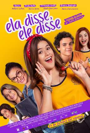 Ela Disse, Ele Disse - Nacional Filmes Torrent Download capa