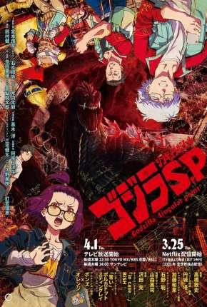Godzilla Ponto Singular - 1ª Temporada Completa Desenhos Torrent Download capa