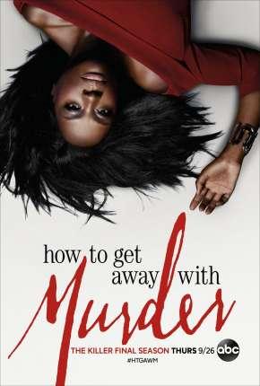 How to Get Away with Murder - 6ª Temporada Completa Séries Torrent Download capa